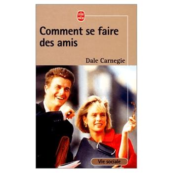 """Livre """"Comment se faire des amis"""""""