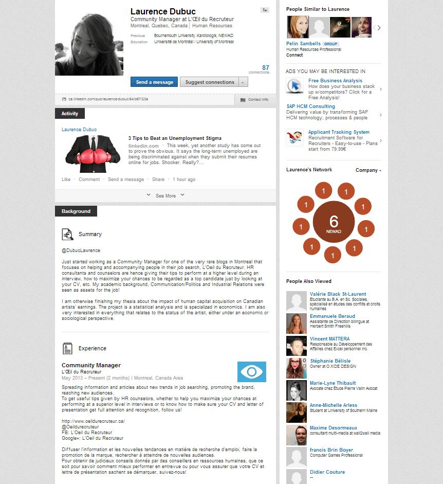 cv en ligne linkedin cv en ligne linkedin   CV Anonyme cv en ligne linkedin