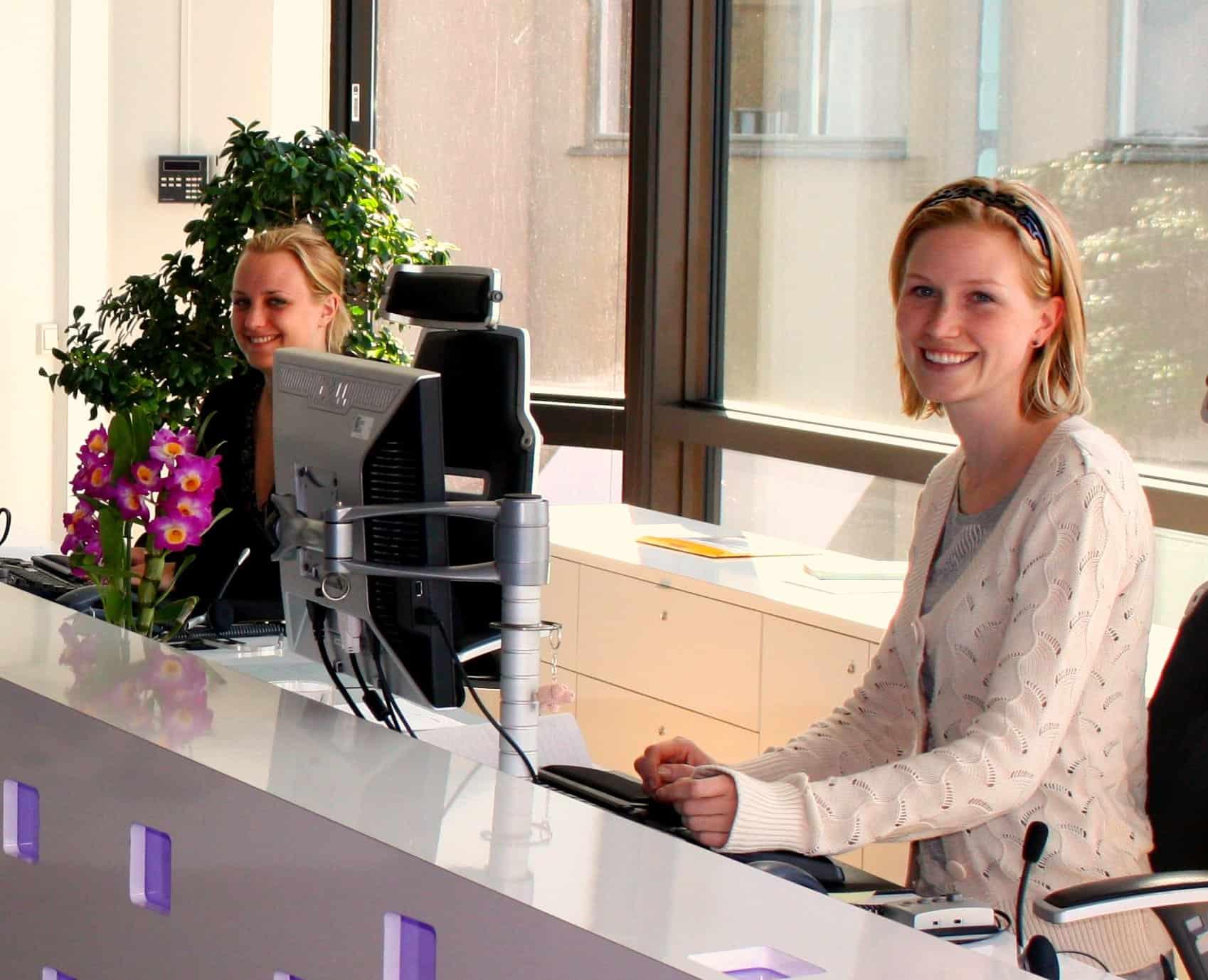 Les réceptionnistes, meilleures amies du recruteur!